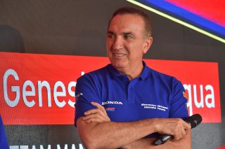 Moriwaki Althea Honda Team Manager Genesio Bevilacqua