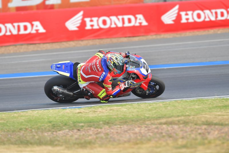 A constructive day of free practice for the Moriwaki Althea Honda Team in the searing Buriram heat