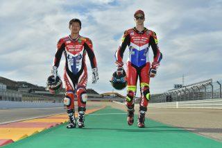 Ryuichi Kiyonari and Leon Camier