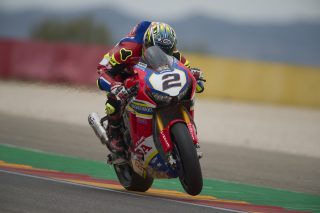Leon Camier CBR1000RR,Honda World Superbike Team, Xlite,Sidi