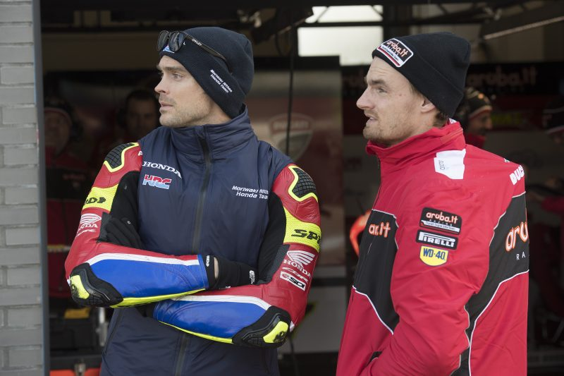 Race 1 postponed until tomorrow due to snow after an eventful Saturday at Assen