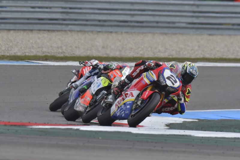 Leon Camier 11th and 12th at Assen, Ryuichi Kiyonari in the points in Race1