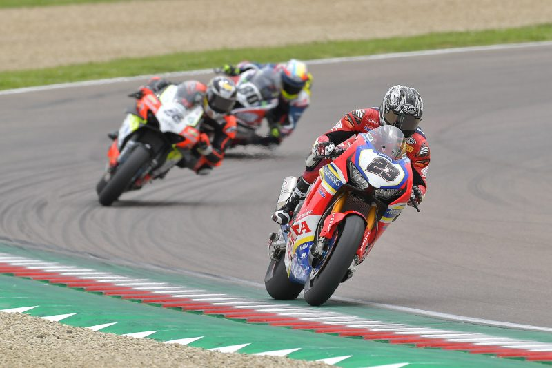 Kiyonari 14th in Race 1, Camier declared unfit to race after qualifying crash.