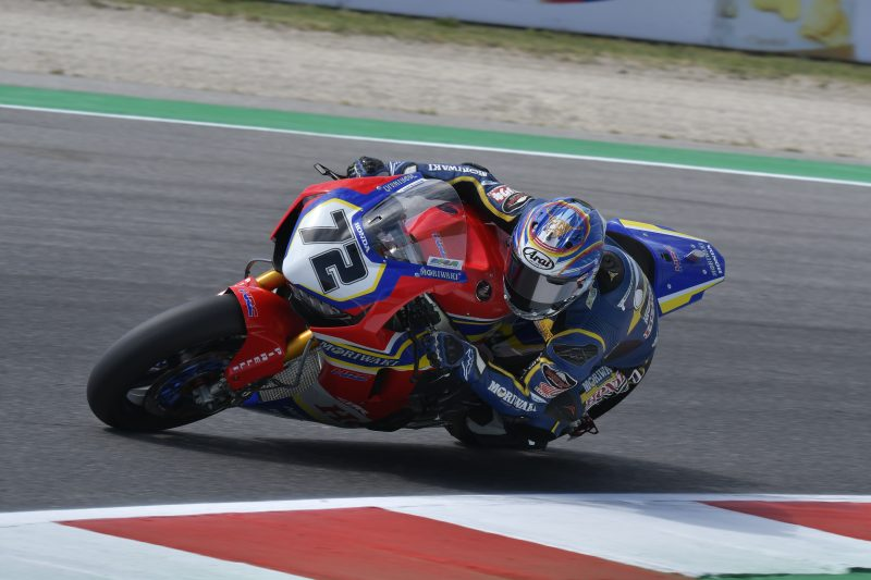 The Riviera di Rimini round gets underway at a hot and sunny Misano