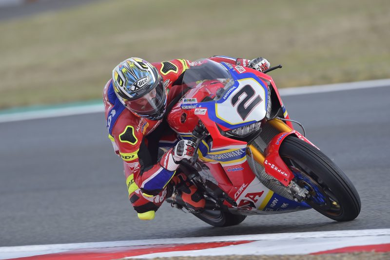 Camier eleventh and Kiyonari fifteenth on a wet day 1 at Magny Cours