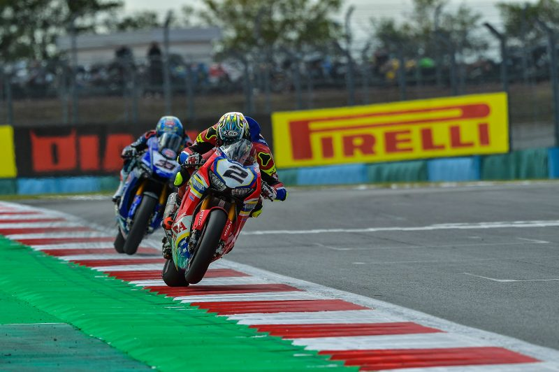 Camier makes a strong return to racing with a positive seventh place finish in Race1 in France