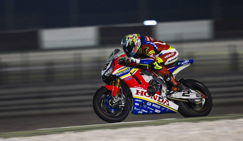 The final WorldSBK round gets underway in Doha for the Moriwaki Althea Honda Team